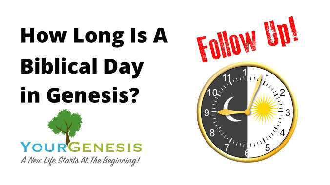 Your Genesis | Follow Up To A Biblical Day | Husbandman